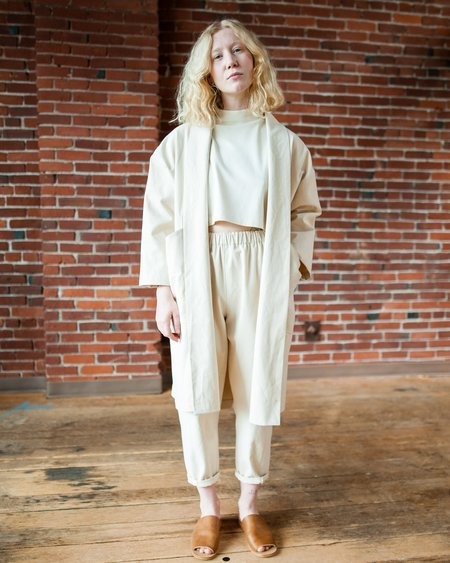 Marty Jean Uniform Duster - Cream