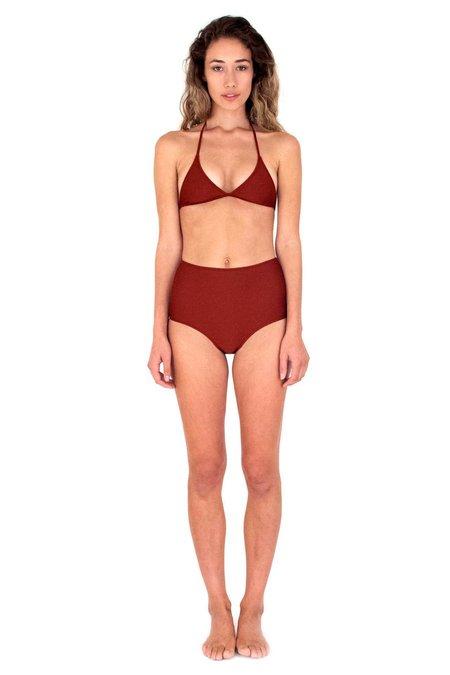 Mollusk Holly Bikini Top - Mars
