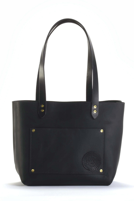 River City Standard Leather Tote - Black