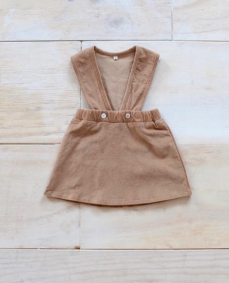 Kids Yoli & Otis Emane Dress - Chestnut