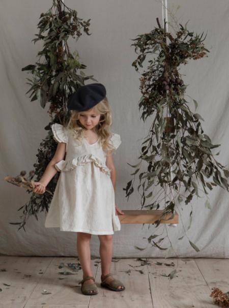 Kids Yoli & Otis Gabriel Dress - Pearl