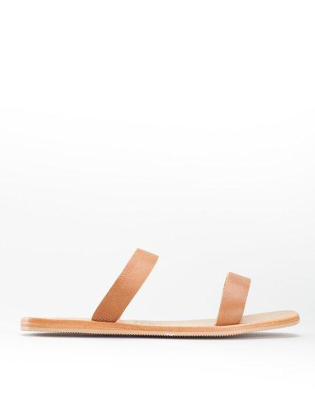 St. Agni Lowe 2 Strap Slide - Tan