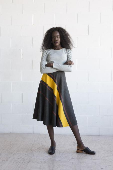 Lois Hazel Transverse Skirt