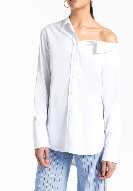 A.L.C. Wesley Top - White