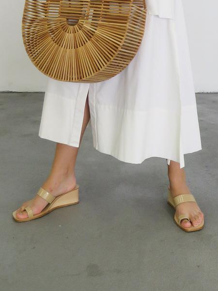 LOQ CADIZ wedge sandal - SAND