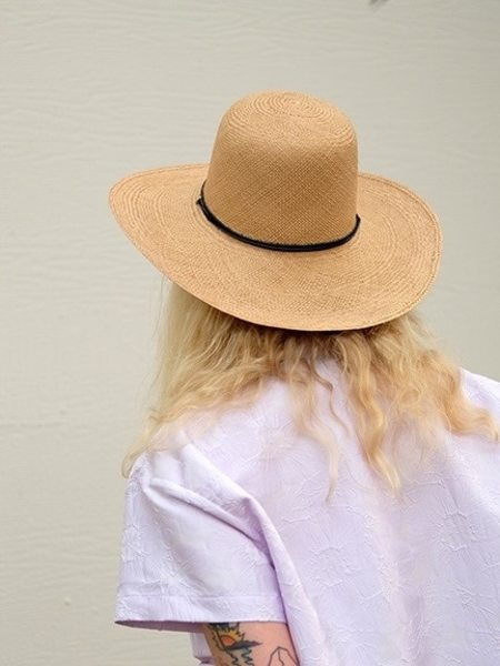 Brookes Boswell Suncrest Panama Straw  Hat