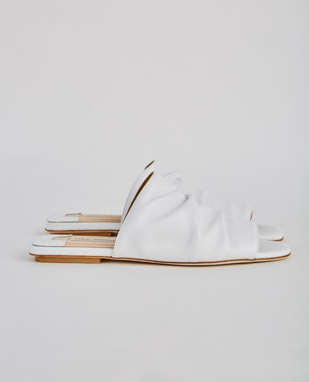 Fabio Rusconi High Vamp Sandal - Bianco