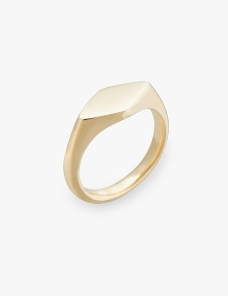Kathryn Bentley Rhombus Signet Ring
