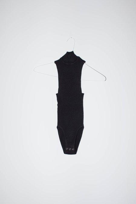 giu giu NONNA Leotard Sans-Sleeves - Onyx