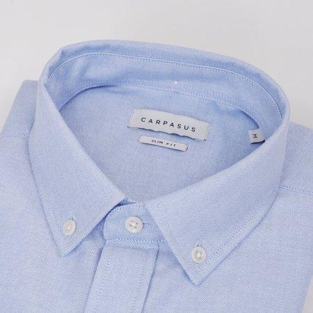 Carpasus Organic Cotton Oxford Shirt - Blue
