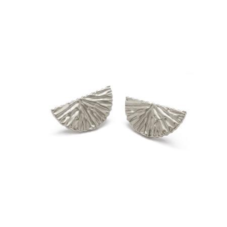 Alexandra Dodds Dune Stud Mini - Silver