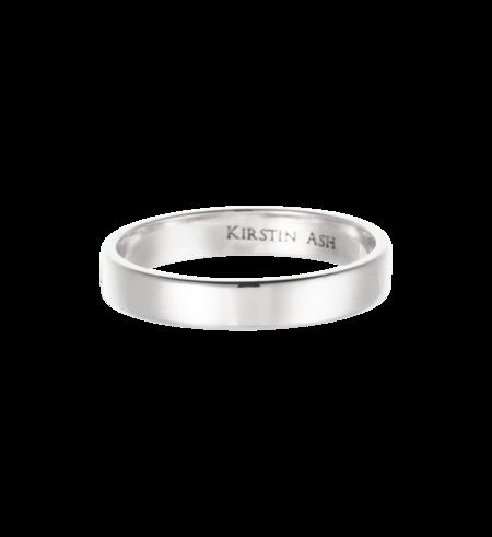 Kirstin Ash Medium Band Ring - Silver