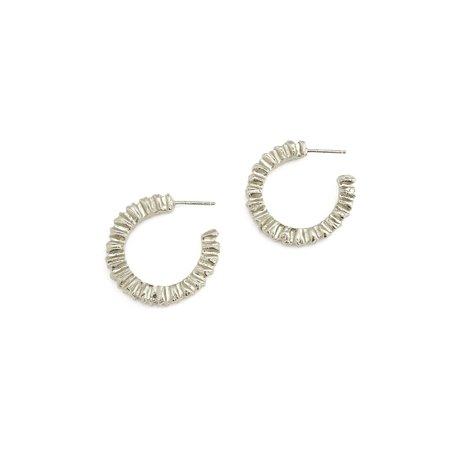Alexandra Dodds Spectrum Hoops - Silver