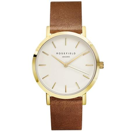 Rosefield The Gramercy - White/Brown-Gold