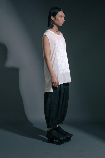 Unisex Jason Lingard Warp Tee - White