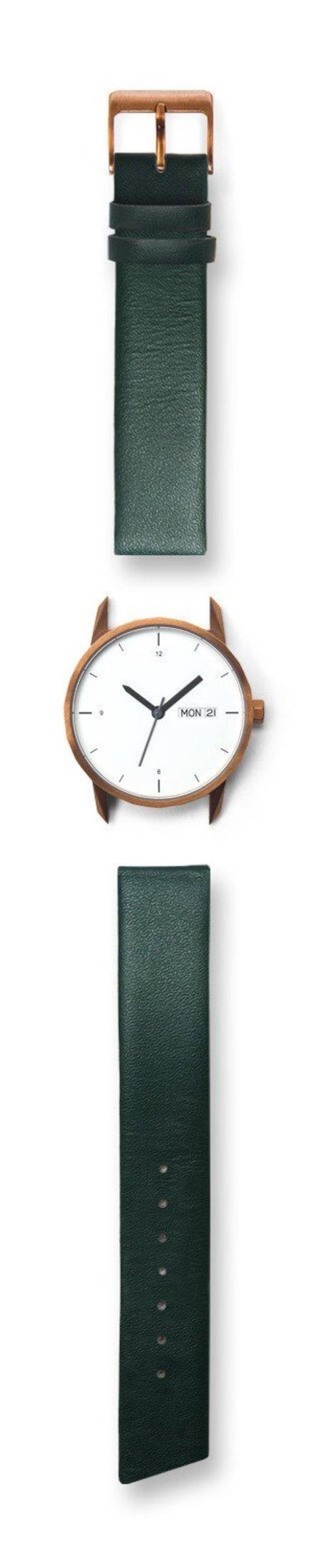 Unisex Tinker Watches 34mm Standard Strap Watch - Copper/Green