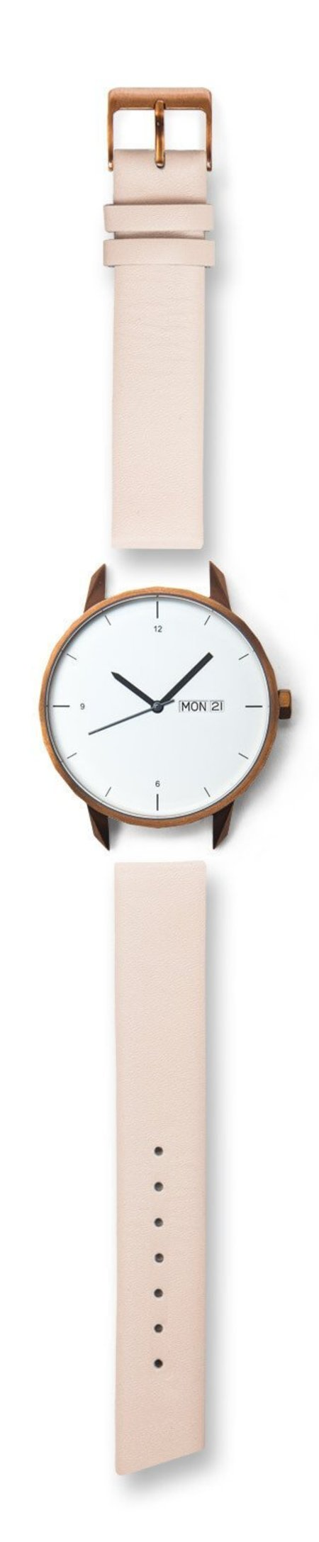 Unisex Tinker Watches 42mm Standard Strap Watch - Copper/Nude