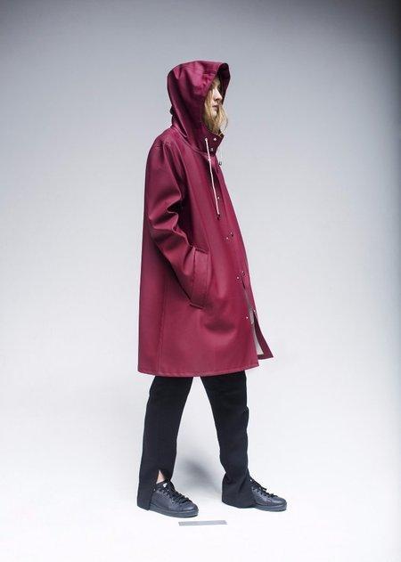 Stutterheim Mosebacke Rain Jacket - Burgundy