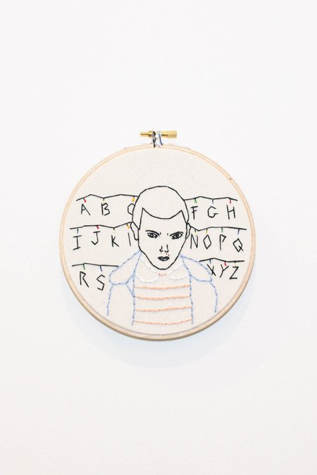 KOE-ZEE STRANGER THINGS EMBROIDERY
