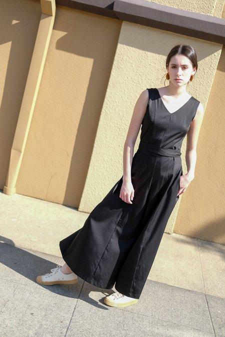 Samantha Pleet Prima Donna Jumpsuit - Black