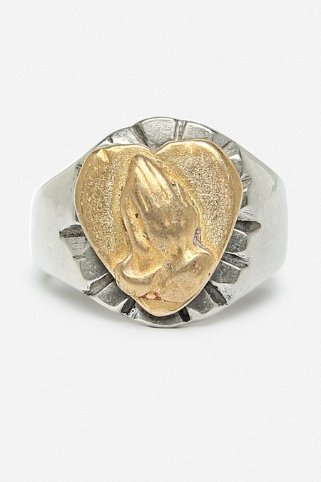 Fortune Goods ST. CLAIR RING - WHITE BRONZE