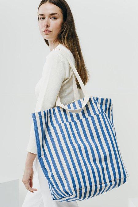 Baggu Giant Pocket Tote - Summer Stripe