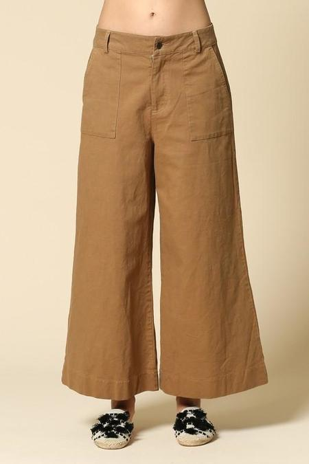 By Together High-Rise Wide Leg Pants - Camel