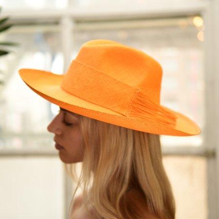 Artesano Tucan Hat - Tangerine