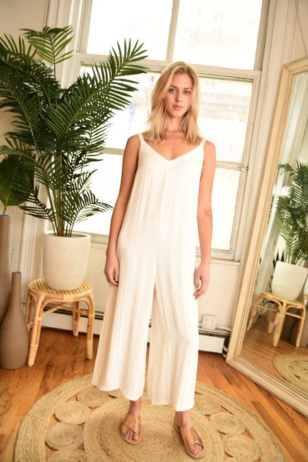 Lacausa Siena Jumpsuit - Bone