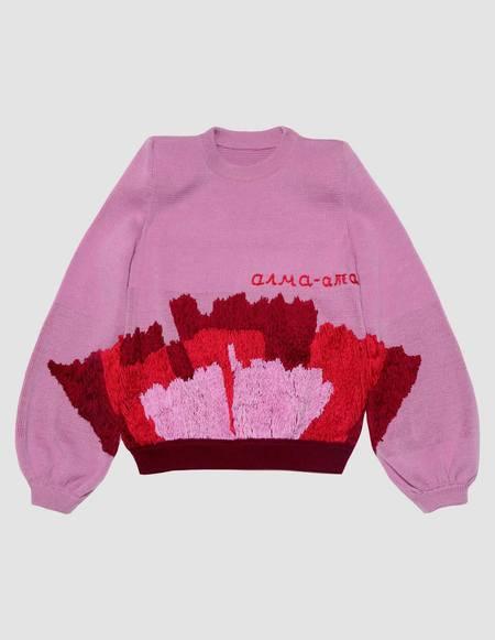 Assel Alma-Alta Sweater - Pink