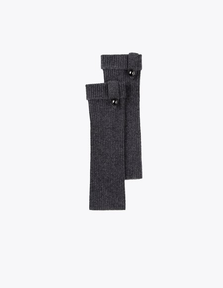 Bonnie's Short Eco-Cashmere Arm Warmers - Grey