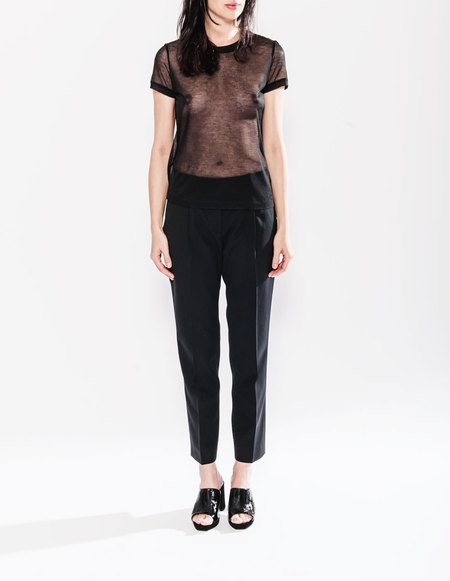 Paul & Yakov Shwartz Silk Pants - Black