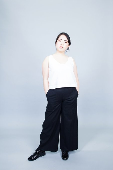 Dagg & Stacey Ambrose Wide Leg Pants - Black
