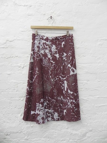 A Détacher Sawyer Skirt - Marble Raisin