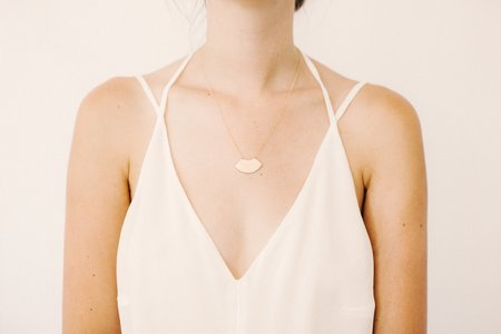Favor Artifact Plate Necklace
