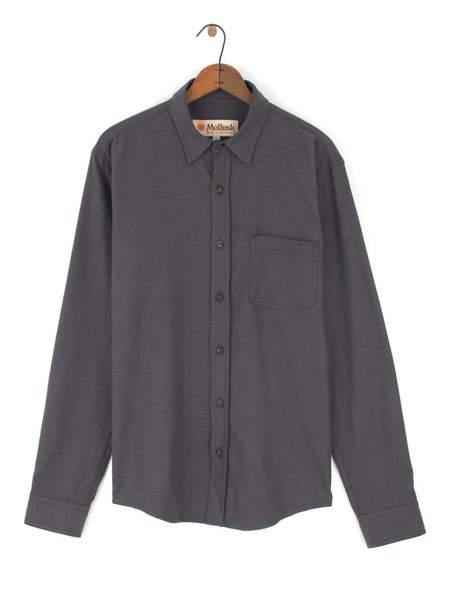 Mollusk One Pocket Shirt - Dark Cloud Grey