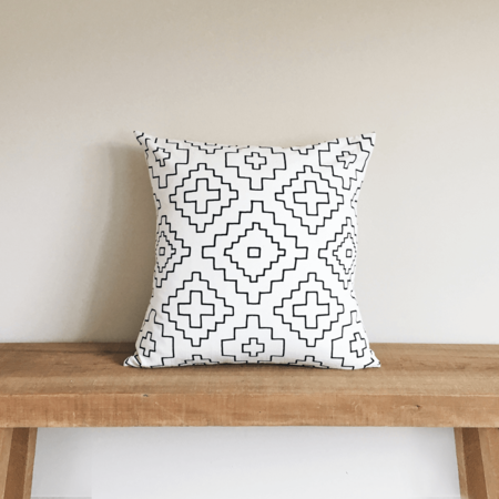 Little Korboose Weave Organic Cotton Pillow