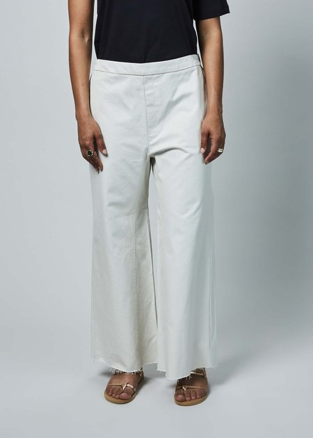 Sibel Saral Was Wide Leg Pant - chalk