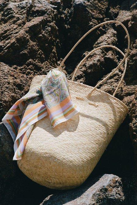 Lacausa Hand Woven Tote - Natural