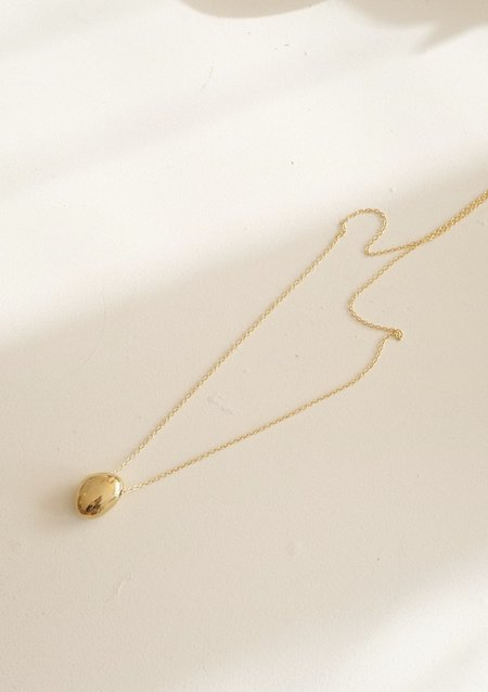 SOKO IMALA PENDANT NECKLACE - BRASS