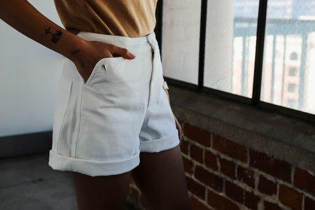 Carleen Shorts - White