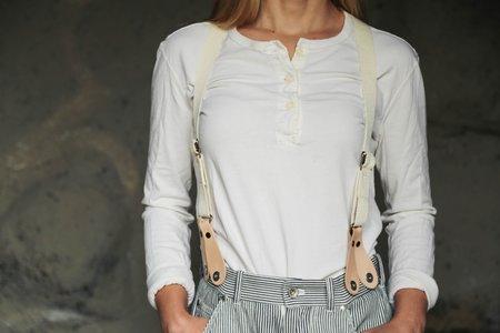 W'Menswear Leather Braces