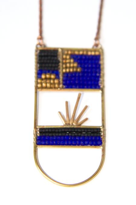 Alchemilla Ellipse Necklace