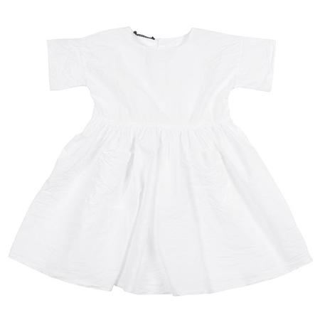 KIDS Album di Famiglia Dana Dress - White