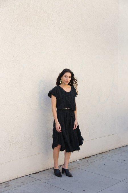 Nico Nico Benton Gathered Skirt - Black