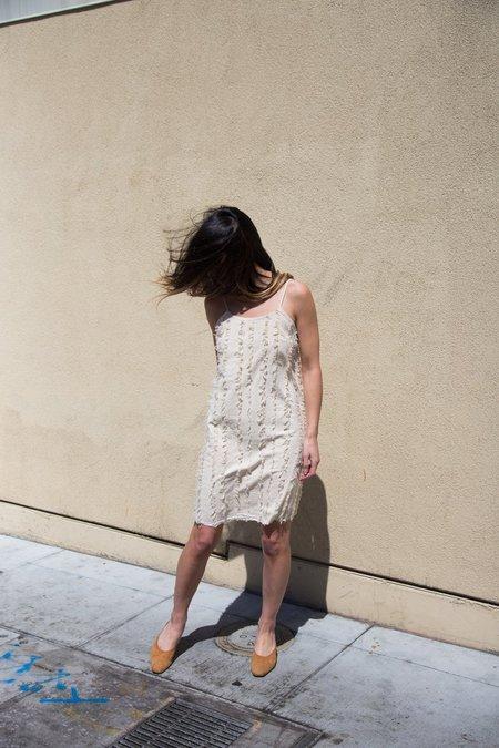 Nico Nico Rowena Striped Dress - Natural