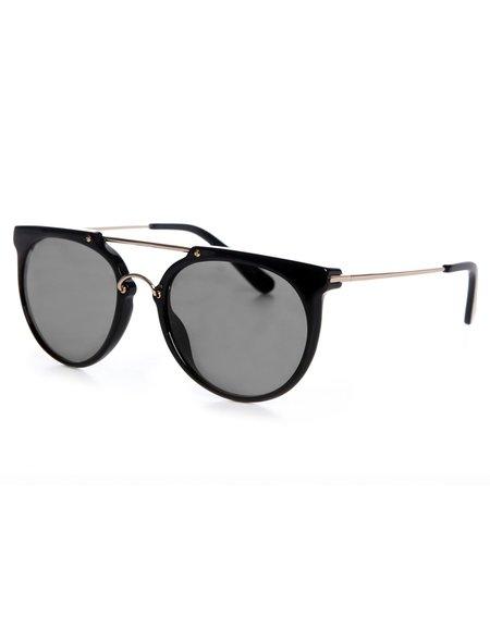 Wonderland Stateline Sunglasses - Gloss Black/Grey