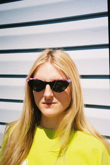 Off Season Printed Rim Cat Eye Sunglasses - multi print