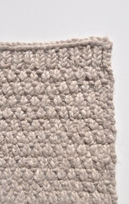 Bartleby Knit Rug - Taupe