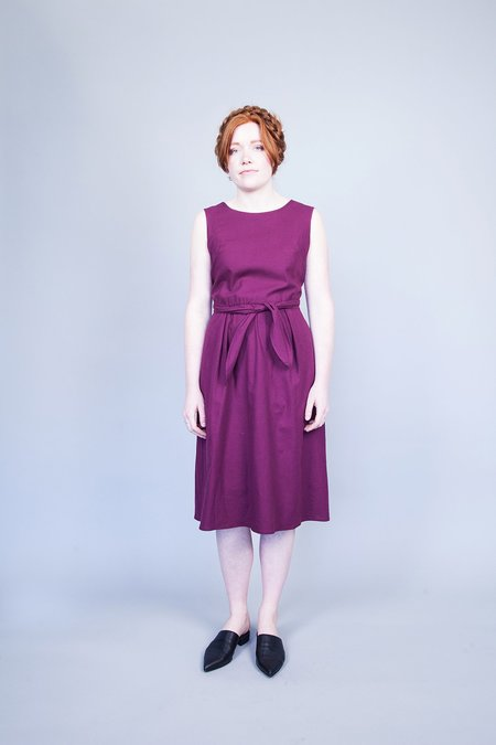 Dagg & Stacey Luka Dress - Plum
